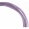 Aluminum Wire 12ga (2.5mm) 30ft Round Purple